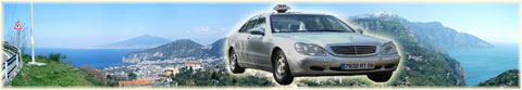 Taxi Positano, Rent a car for o from Positano, transfert Rome airport, Naples Capodichino
